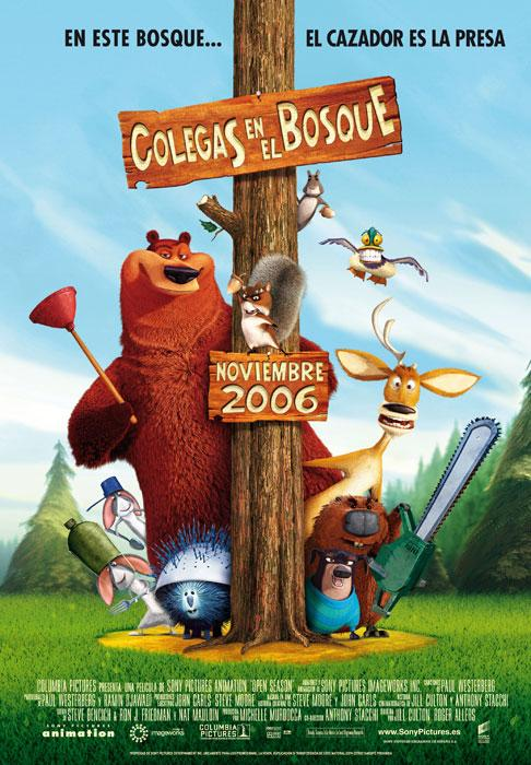Colegas en el bosque (Open Season) ()