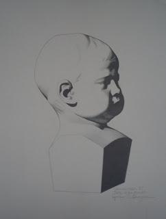 Tete d'enfant apres C. Bargue by Michelle Henderson