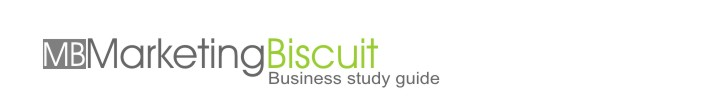 Marketing Biscuit, Business study guide