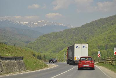 Drumul catre statiunea Cheia