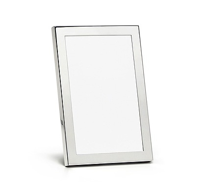 Classic silver picture frame from Tiffany & Co.