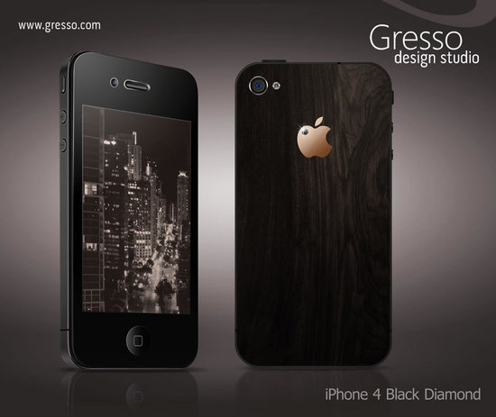 New iPhone 4 Black Diamond by