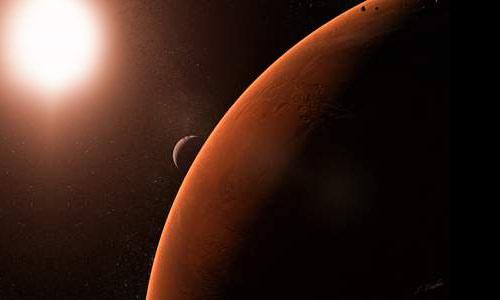 light beige planet mars - photo #28