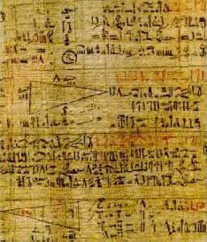 Rhind papyrus Τα μαθηματικά των Μινωιτών.