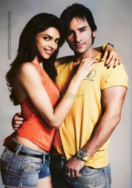 Deepika Padukone And Saif Ali Khan Filmfare Magazine S