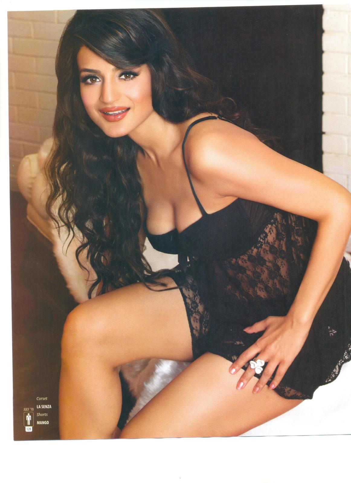 Fertyles: Amisha Patel Hot Photoshoot Pictures from The MAN Magazine ...
