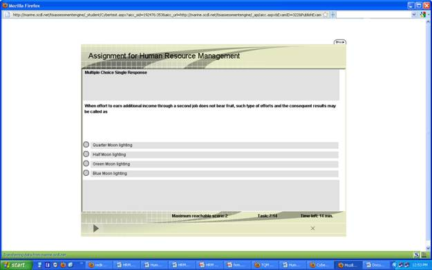 scdl human resource management papers Tegic management the findings of paper are based on the questioning of lithuanian telecommunication companies in order to reveal their attitude toward human resource management strategy development keywords: human resource management, strategic management, business strategy, development and im- 1.