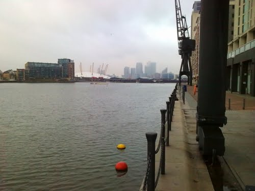 Royal Victoria Dock (the Boat Show venue) – but not as I remember it.