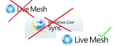 Windows Live Sync muere, Live Mesh renace