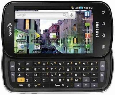 Caracteristicas y detalles del Samsung Epic 4G