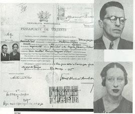 passaporte de Olga Prestes