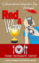 Red & White Foodie Photo Contest