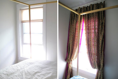 Good A While Back I Mentioned On Facebook About My Sari Curtain Project For The  Bedroom. Well, Finally Iu0027m Sharing With You The Pics And Details Of This  Super ...