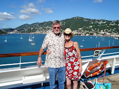 Tom and Me & St. Thomas in background