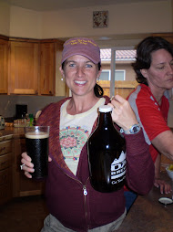 Paula and her growler