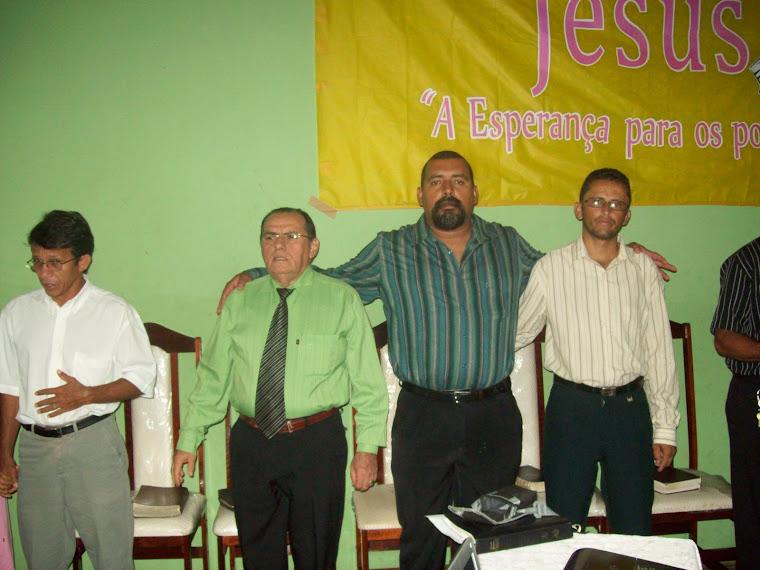 PASTOR ADONIAS , PASTOR PAULO,PASTOR VALDECI E PASTOR LUIS