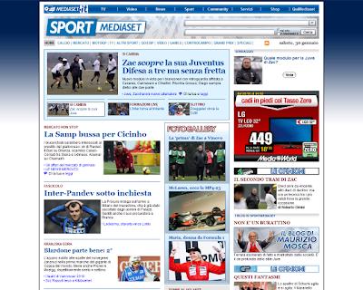 SPORT MEDIASET - Guida Al Campionato | SitoBello