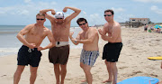 Some Really Hot Guys on the Beach