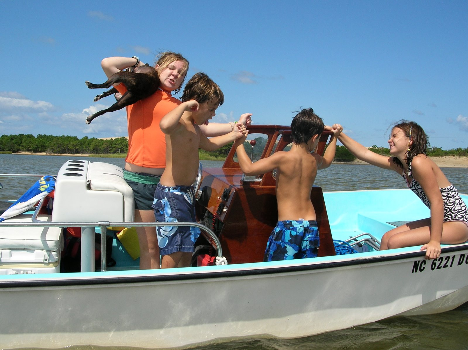 My Crazy Kids On the Boat