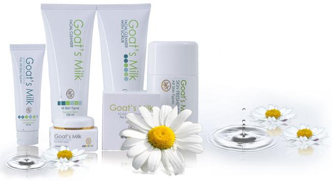 Produk SkinCare HR : Semuanya Mengandungi Susu Kambing Asli, Segar & HALAL