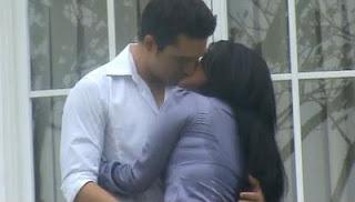 Foto Ciuman Dewi Persik Indra Brugman di Film Tiran