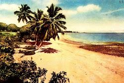 Orla do Chapéu Virado e Farol em idos da década de 1920.