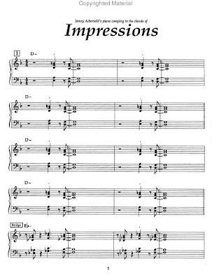 Sheet Music: Impressions
