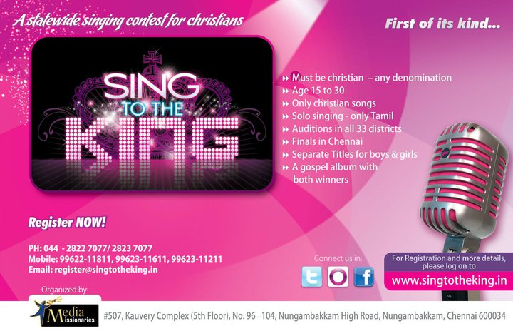Christian Singing Contest