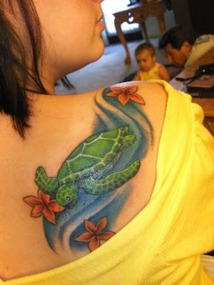 Sexy Of The Sexy Turtle Tattoo