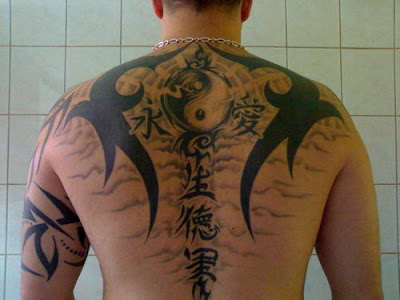Tattoo of a Ying Yang There are an unlimited amount of things that you can