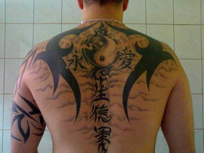 Ying and Yang Tattoos