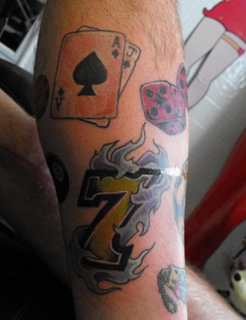 Lucky Tattoos Inspire Fortune - Get Lucky Tattoos Good Luck to my opponents.
