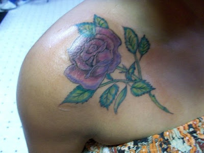 Japanese Rose Tattoo