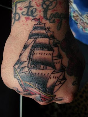 Label: Ship Tattoo