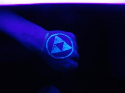 Label: UV ink Tattoo