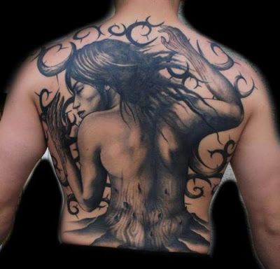 tribal tattoos back body