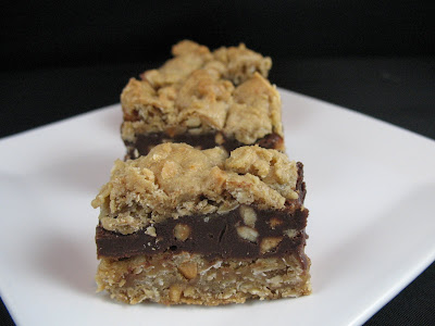 Cookies on Friday: Chocolate Oatmeal Almost-Candy Bars
