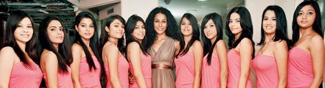 2010 Sananda Tilottama Beauty Contest Contestant Photos