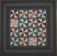 Jo Morton mini quilt