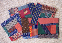 assorted crumb quilt blocks