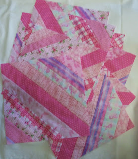 pink string blocks