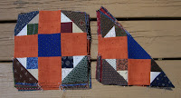 Orange Crush Mystery Step 5 blocks & half blocks