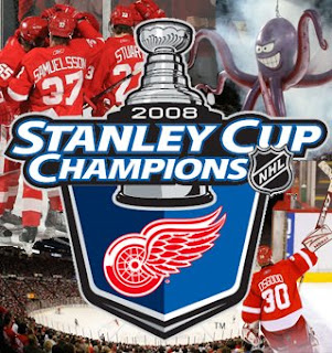 2008 Stanley Cup Champions, Detroit Red Wings