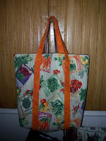 fabric grocery shopping bag