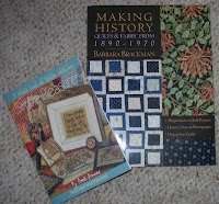 two new books, one history and one stitcheries
