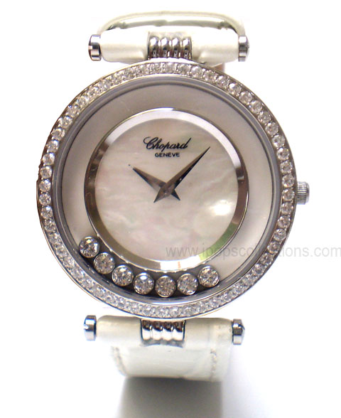 jam tangan branded on Ipops Collections: Jam Tangan Branded - Chopard Dancing Diamond