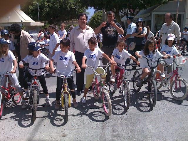 Πετυχημένος ο 13ος Ποδηλατικός Αγώνας απο τον Οργανισμό Αθλησης και Νεολαίας