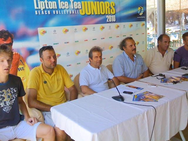 Συνέντευξη Τύπου για τον τελικό Beach Volley Κ23 στην Κυπαρισσία
