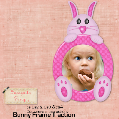 Bunny Frame Action (Tested in CS2,CS3 & CS4) - By: Incognito Scrapz Incognito_easterframeII
