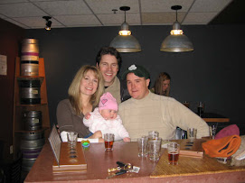 Friends Hanging Out at O'Dells Brewery in Fort Collins, Colorado